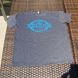 Navy Blue Volcom Tee sz L